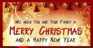 merry family banner we wish you and your family a merry