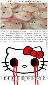 Hello Kitty Meme - hello titty by thedarksorceress meme center