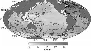 Map Of The Oceans Sabine And Feely The Oceanic Sink For Carbon Dioxide