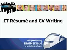 Resume Writing Course Online by Career Factor Workshop It Resume And Cv Writing Youtube