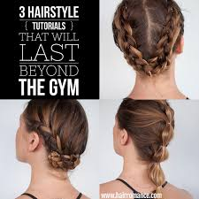 hair you wear how to look while you workout 3 lasting hairstyle