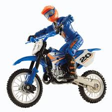 wheels motocross bikes amazon com wheels moto x no 20 rider and black bike figure