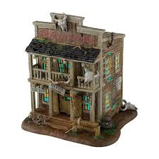 department 56 halloween village road kill grill lit house the