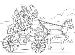 horse color coloring free printable coloring