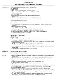 technical resume exles deployment technician resume sles velvet