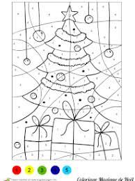 Coloriages Magiques Noël  page 1