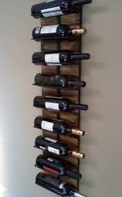 silver wall wine rack 3298