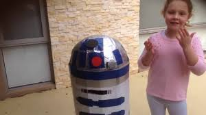 r2d2 halloween costumes how to make an r2d2 costume youtube