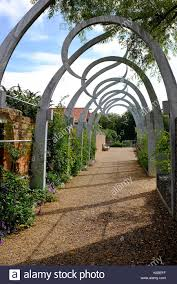 metal garden archway stock photos u0026 metal garden archway stock