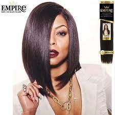 empire hairstyles sensationnel empire 100 human hair weave yaki weave