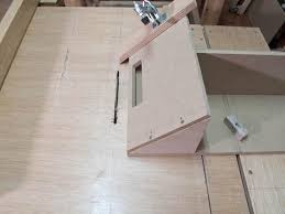 miter cuts on table saw lucas contreras s homemade table saw
