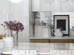 kitchen backsplash stainless steel tiles stainless steel subway tile backsplash awesome range with white