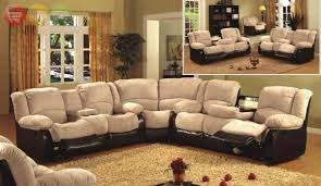 sectional sofas with recliners and cup holders including ideas