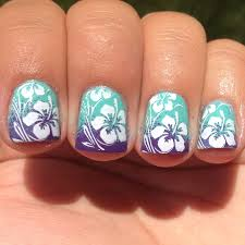 tropical nail art top 15 summer nail art ideas 15 nail art