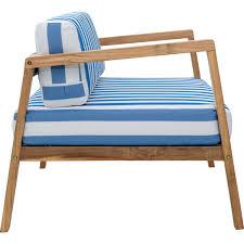 zuo modern 703563 bilander outdoor sofa cushion in blue u0026 white