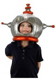 Kids Robot Halloween Costume Metallic Robot Hat Kids Halloween Costume Robot Hat