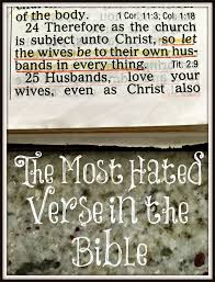 bible quote gifts talents the most hated verse in the bible u2013 the transformed wife