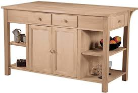 Unfinished Furniture Kitchen Island Kitchen Island Wc 6034ab Unfinished Furniture Outlet
