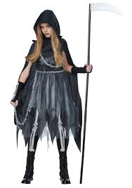 Lighted Halloween Costumes by Grim Reaper Costumes For Adults U0026 Kids Halloweencostumes Com