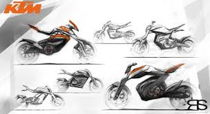 electric dirt bike on behance motorcycle sketches pinterest