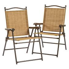 Outdoor Dining Chair by Greendale Home Fashions Sling Back Outdoor Chairs Set Of 2