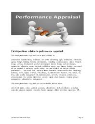 Web Content Manager Resume Web Content Manager Performance Appraisal
