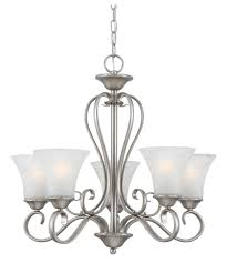 Quoizel Pendant Lighting Interior Appealing Gold Chandelier With Five Lamp By Quoizel