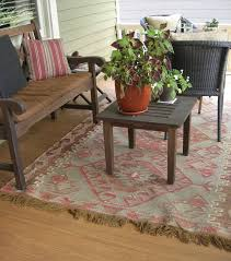 Outdoor Kilim Rug by My Little Bungalow Indoor Outdoor Rugs