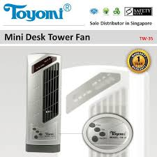 Desk Tower Fan Qoo10 Toyomi Mini Desk Tower Fan Model Tw 35 Official