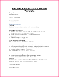 Sample Resume Objectives Ojt Students 5 sample resume objectives for business administration ojt