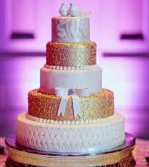 tier round white u0026 gold wedding cake love bird toppers jpg