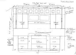 impressive kitchen floor plans with dimensions kitchen cabinet