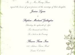 wedding invitation sayings idea wedding invitations with parents names for wedding invitation