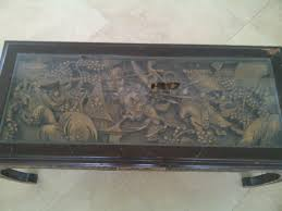 Carved Coffee Table Japanese Hand Carved Coffee Table See Here Tables Ideas Position 1