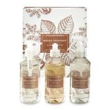 spiced chestnut soap lotion soap and candle williams sonoma gift sets spiced