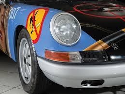 this 1965 porsche 911 has a racy paintjob from peter klasen