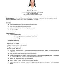 exle basic resume exles of resumes 9 exle simple resume expense in