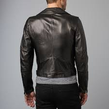 biker jacket sale chiodo leather biker jacket black euro 52 ad milano