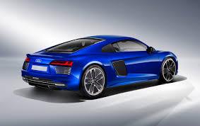 Audi R8 Green - audi unveils self driving r8 e tron electric car at ces asia audi