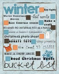 dworianyn love nest 25 days of christmas day 2 winter bucket list