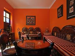 basement wall color orange lsars blog cheerful family room with