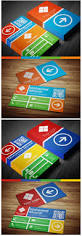 20 flat style business card examples