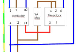 wiring diagram for schneider contactor wiring diagram