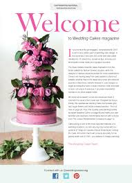 wedding cakes magazine spring 2016 squires kitchen shop cake