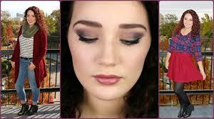 thanksgiving makeup tutorial 2 ideas casual glam