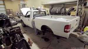 Old Ford Truck Beds - truck bed removal time lapse youtube