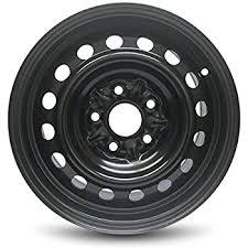 toyota corolla 2005 rims amazon com 15 toyota corolla 5 lug steel wheel automotive
