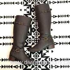 vintage womens boots size 11 womens boots vintage boots womens boots chocolate brown leather