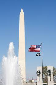 Washington Dc Flag Free Images Water Architecture Sky Building City Skyscraper