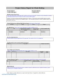 weekly status report template excel weekly status report template excel unique weekly project status